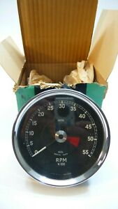 E Type Xke Smiths Impulse Tachometer Rv1 4611 01 New In Box Dated 1969