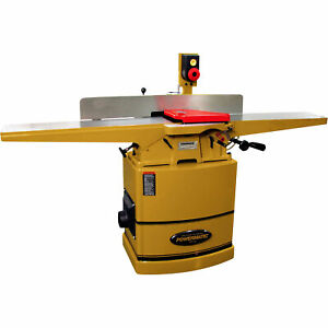 Powermatic 8in Jointer 2hp 1ph 230v 3 knife Cutterhead Model 60c Jointer