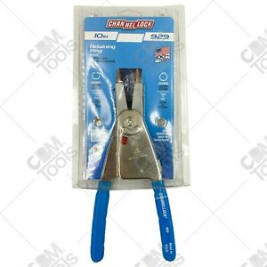 Channellock 929 10 Long Convertible Retaining Ring Pliers With Replaceable Tips