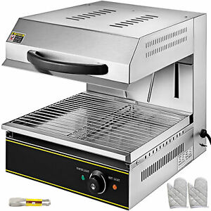Cheese Melter Electric Cheesemelter 2800w Salamander Broiler Bbq Gril Countertop