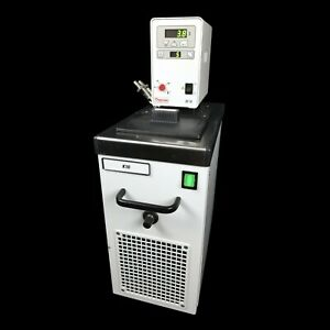 Fisher haake K10 Chilled Circulator Water Bath W thermo Dc10 Thermostat Controls