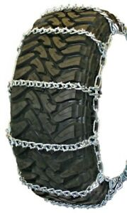 Quality Chain Wide Base V Bar Cam 265 75 17 Truck Tire Chains