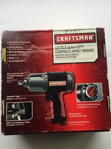 Craftsman 1 2 In Heavy Duty Composite Impact Wrench Brand New