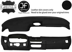 Black Dash Dashboard Real Leather Cover For Porsche 924 75 88 944 81 85 Jf2