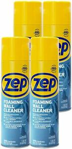 Zep Foaming Wall Cleaner 18 Oz Zufwc18 case Of 4 Cleans Without Damaging Walls