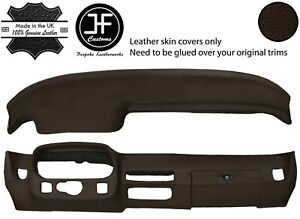 Brown Dash Dashboard Real Leather Cover For Porsche 924 75 88 944 81 85 Jf1