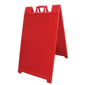 A frame Simpo Sign Stand For Marketing Advertisement Red New Free Shipping Usa