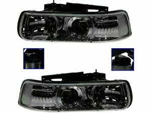 For 2001 2002 Chevrolet Silverado 1500 Hd Headlight Assembly 52194nw