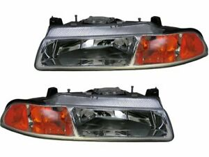 For 1995 2000 Dodge Stratus Headlight Assembly Set 14154rq 1996 1997 1998 1999