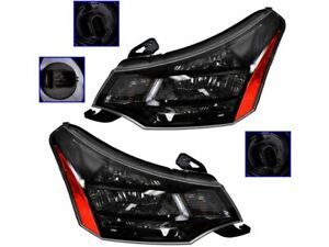 For 2009 2011 Ford Focus Headlight Assembly Set 45137rp 2010 Ses Sedan