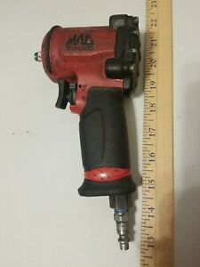 Used Mac Tools 3 8 Dr Mini Air Impact Wrench Awp038m Tested Works