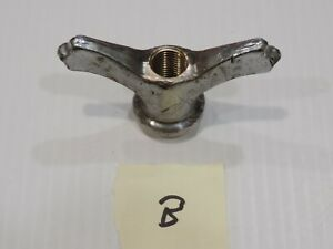 Vintage 1920 S 1930 S Spare Tire Hold Down Wing Nut Buick Packard Cadillac