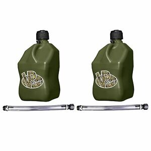 Vp Racing Fuels 5 gal Motorsport Container Camo W 14 Standard Hose 2 Pack