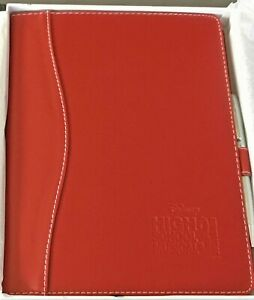High School Musical 3 red Leather Leeds Notebook new In Box Rare