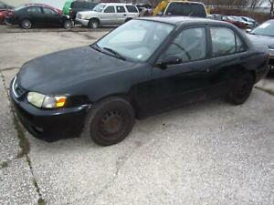 00 02 Toyota Corolla Transmission Automatic At Fwd 4 Speed Oem Morad Parts