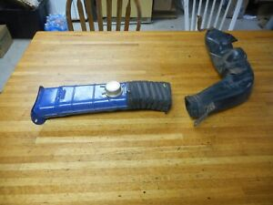Nos 1973 Ford Mustang 351c 4v Air Cleaner Snorkel W Flex Tube Used Lower Duct