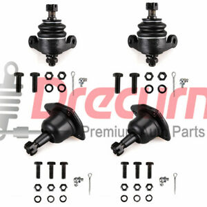 4pcs Front Upper Lower Ball Joints For 1958 1970 Chevrlot Impala Caprice Bel Air
