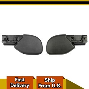 For 97 06 Jeep Wranglerdorman Front Bumper Extension End Caps Left