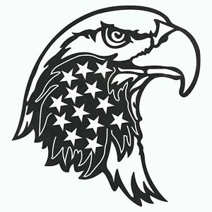 Usa Eagle Stars Dxf Sign Plasma Laser Waterjet Router Plotter Cut Vector Cnc Svg
