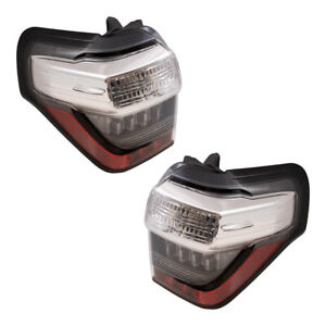 Tail Lights Set Fits 2014 2020 Toyota 4runner Pair Combination Taillamps Housing