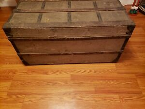 Ultra Rare Louis Vuitton Trunk Dated 1880 Numbered 71 Wow Look
