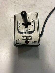 Western Plow Controller Switch Used
