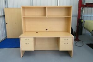 Used Office Desk With Hutch