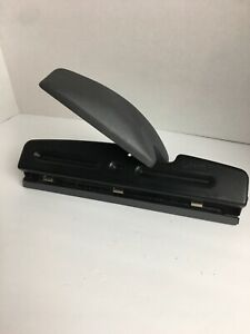 Acco Brand Black Three 3 Hole Punch