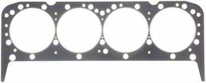 Two 2 Fel Pro Head Gaskets Composition Type 4 180 Bore 039 Comp Sbc