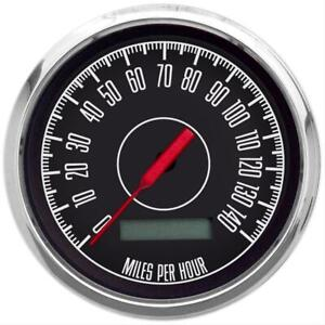 New Vintage Usa 1967 Series Speedometer Gauge 0 140 Mph 3 3 8 Dia Electrical
