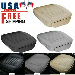 Car Breathable Front Seat Cover Pu Leather Pad Mat Cushion Full Half Surround Us