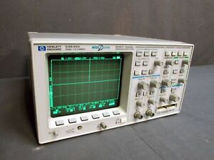 Hp Agilent 54645d 2 16 Channel 100 Mhz Mixed Signal Oscilloscope