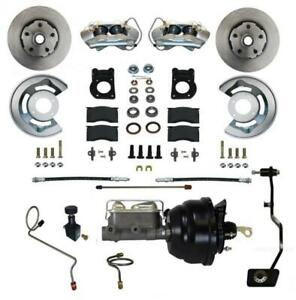 Leed Brakes Fc0002 x405m Disc Brake Front Conversion Power Assist Solid Surface
