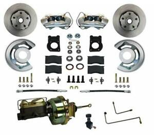 Leed Brakes Fc0001 h405a Disc Brake Front Conversion Power Assist Solid Surface