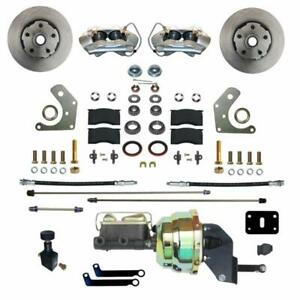 Leed Brakes Fc2002 8405 Disc Brake Kit Front Conversion Power Assist Solid