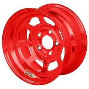 56 Aerobrite Red Chrome Spun formed Extreme Bead Wheel 15x8 5x5 56985030red