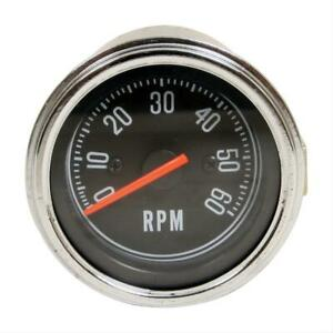 Omix ada Tachometer Beige Face Red Pointer Chrome Bezel Fits Jeep Each