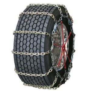 Quality Chain Wide Base Square Alloy Cam 275 75 15 Truck Tire Chains