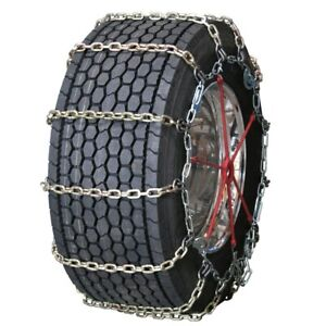 Wide Base Square Alloy Cam 295 40 24 Truck Tire Chains