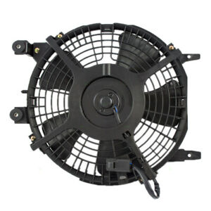 New A c Condenser Cooling Fan Motor Assembly For 93 97 Toyota Corolla Geo Prizm