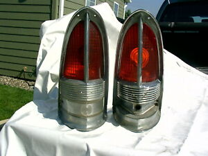 1955 1956 Packard Taillights Patrician Carribian 400 Tail Lights Fd19 8 19