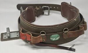 Buckingham Er Leather Lineman Tree Pole Climbing Belt Size 26