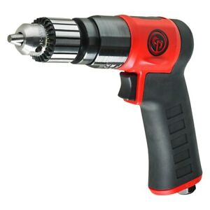 3 8 Keyed 0 6 Hp 4 1 Ft lb Metal Lightweight Air Drill driver