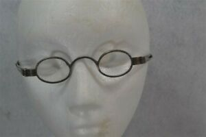 Antique Spectacles Eyeglasses Coin Silver Expandable 18th 19th C Reenactment