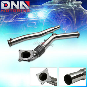 For 06 11 Audi A3 Vw Jetta Gti Mk5 2 0t Stainless Turbo Flex Exhaust Down Pipe