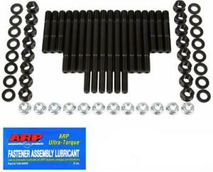 Arp Main Studs 4 Bolt Main Large Journal With Windage Tray Chevy Small Block Kit