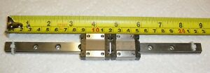 Thk Rsr12vm Linear Slide 220mm Long 2 Blocks Used