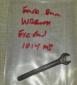 Emco Compact 5 Lathe 8mm Open End Wrench 1014mi