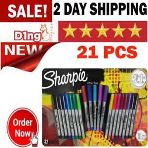 Sharpie Ultra Fine Point Asstored Multi Colors Permanent Marker Set Home Office