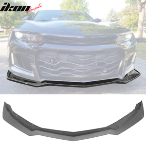 Replacement Front Lip For 16 20 Chevy Camaro Zl1 Style Front Bumper Pp